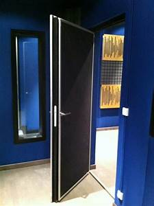 Isolation Phonique Porte : sonex construction de studio d 39 enregistrement et travaux ~ Edinachiropracticcenter.com Idées de Décoration