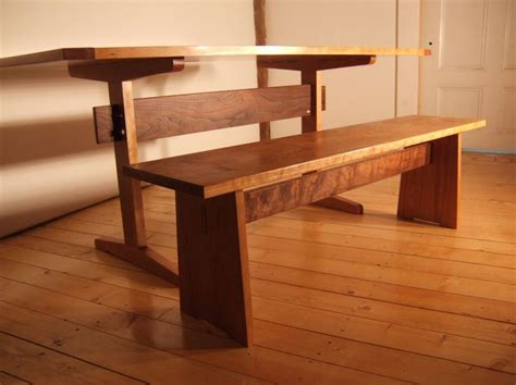 Shaker Trestle Table Plans   WoodWorking Projects & Plans
