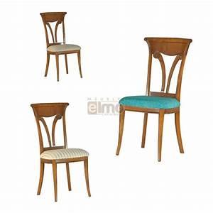 Chaises salle a manger classique bois massif dossier bois for Meuble salle À manger avec chaise salle a manger bois et cuir