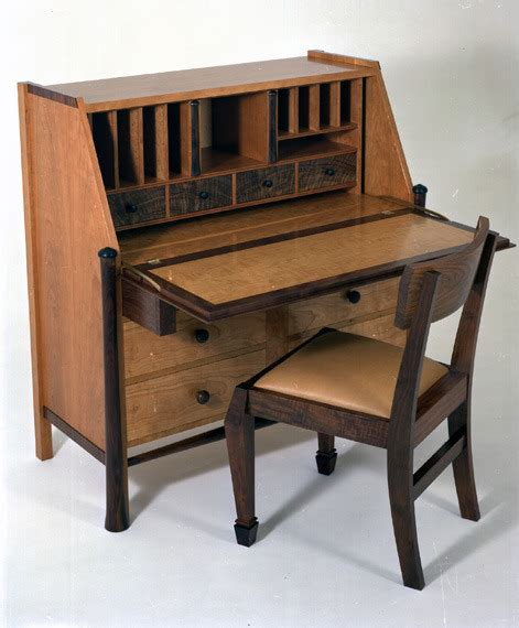 Secretarys Desk Chair by Desk On