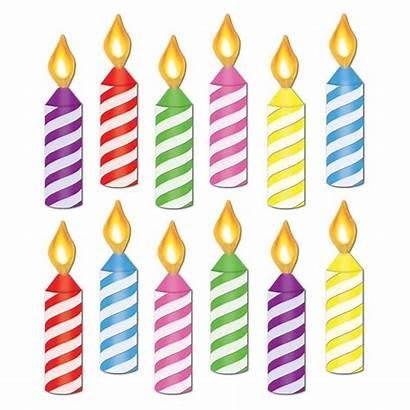 Clipart Candle Bulletin Board Birthday Cutouts Case