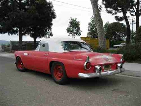 Sell used 1955 Ford Thunderbird Ca Black Plate Barnfind