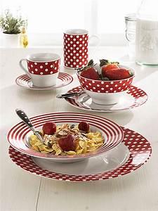 Service Vaisselle Porcelaine : service de table a pois ~ Teatrodelosmanantiales.com Idées de Décoration