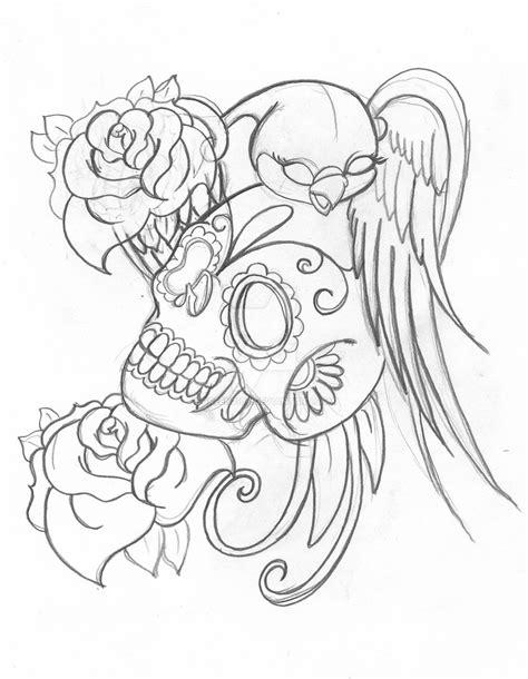 Candy Skull By Green2106 On Deviantart