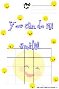 cute behavior charts smiley face paperstemplates pinterest behaviour chart sticker