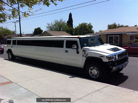 Hummer Limousine by 2008 Hummer H2 Limousine Limo