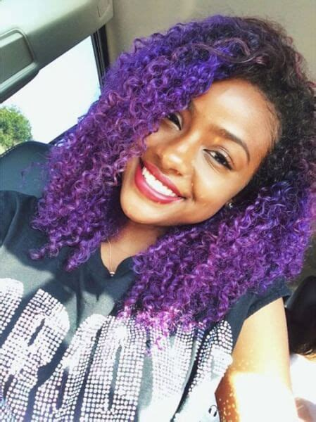 Colored Natural Hair For Black Women Short And Long