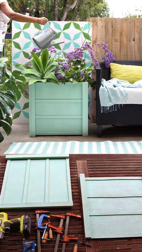 beautiful wood planter boxes  easy diy