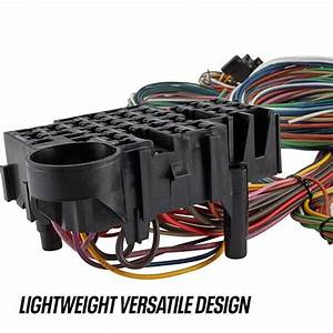 Speedway 22 Circuit Universal Street Rod Wiring Harness W