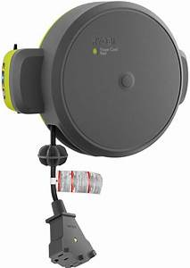Garage Door Opener Retractable Cord Reel Overhead Extends