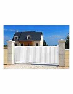 Portail Alu Coulissant : portail maison sur mesure ~ Edinachiropracticcenter.com Idées de Décoration
