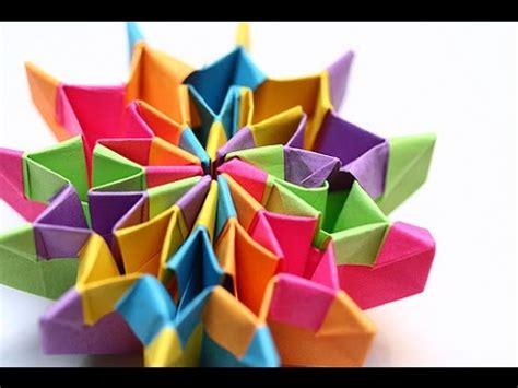 handmade guides  paper firework origami art youtube