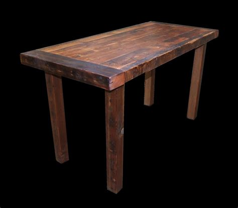 wood counter height dining table reclaimed wood counter height dining table