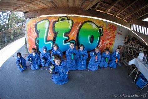 idees chambre leo 11ans graffiti anniversaire en suisse