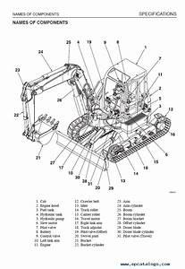 Takeuchi Tb180fr Excavator Workshop Manual Pdf Download
