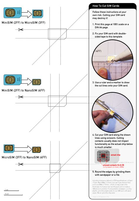 convert micro sim  nano sim  iphone