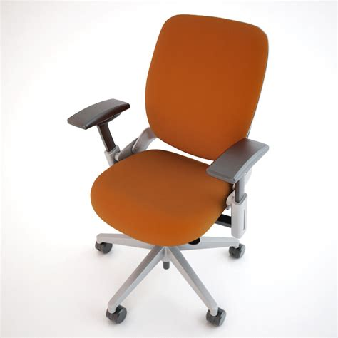 steelcase leap office chair 3d model max obj fbx