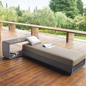 Bett Für Den Garten : rattan lounge m bel f r terrasse und garten von roberti rattan italien ~ Frokenaadalensverden.com Haus und Dekorationen