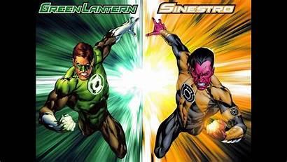 Sinestro Lantern Dc War