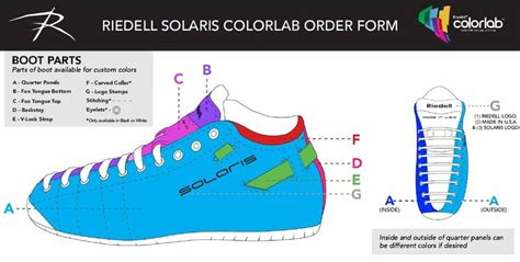riedell color lab riedell solaris colorlab custom color system