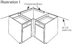 Rotating Corner Cabinet by Cabinetry Installation Echelon Cabinets
