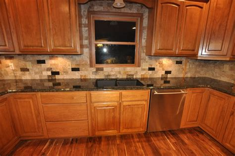 Kitchen Counter And Backsplash Ideas - granite countertops and tile backsplash ideas eclectic kitchen indianapolis by supreme