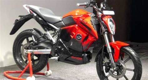 revolt rv  electric motorcycle top  features motoroids