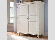 white armoire Morgan cheap armoire desk in cream white