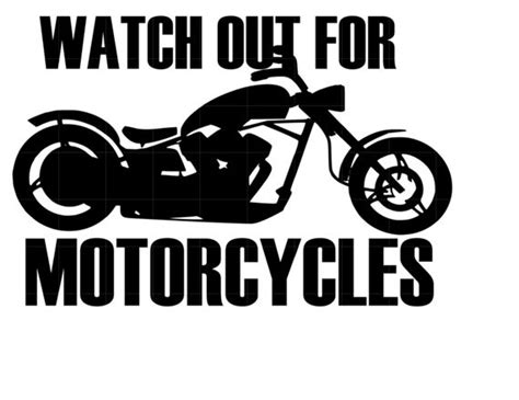 motorcycles car decal  stixvinylstore  etsy