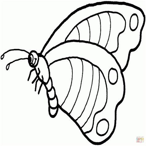 disegni da colorare e ritagliare per bambini gratis farfalle da colorare e ritagliare