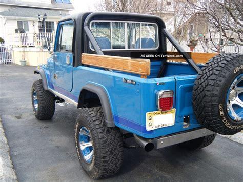 jeep scrambler 4 door 1983 jeep scrambler custom 2 door 360 v 8