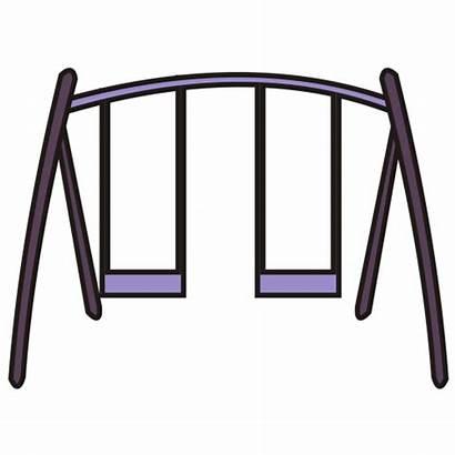 Swing Clipart Clip Swings Swingset Cartoon Swinging