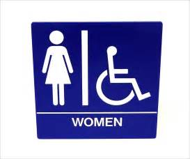 restroom sign cliparts co