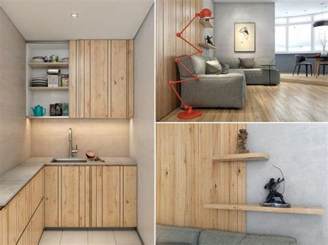 Two Lovely Apartments Featuring Wood Paneling by Two Lovely Apartments Featuring Wood Paneling Interior