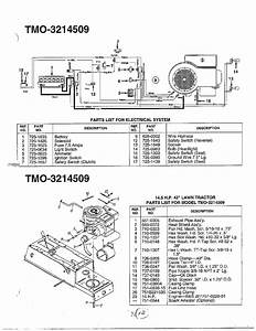 Mtd Lawn Tractor Deck Diagram Mtd Wiring Diagram And