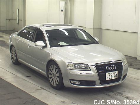 Audi A8 For Sale by 2006 Audi A8 Silver For Sale Stock No 35394 Japanese