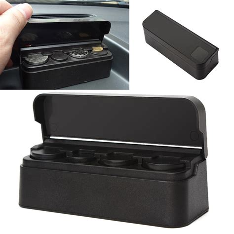 black box auto new car auto interior coin storage box holder