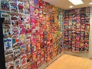 Boite A Cereale : un mur entier de c r ales dans ta chambre fastandfood ~ Teatrodelosmanantiales.com Idées de Décoration