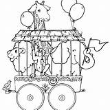 Circus Coloring Pages Ringmaster Elephant Getdrawings Printable Getcolorings sketch template