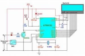 Audio Frequency Counter Using At89c52 Micro Controller