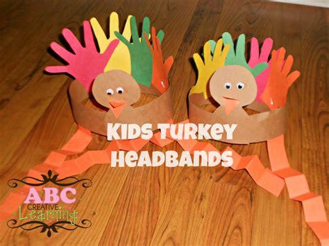 thanksgiving preschool crafts turkey headband craft for 3075
