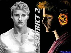 Learn How to Draw Cato, Hunger Games, Alexander Ludwig ...