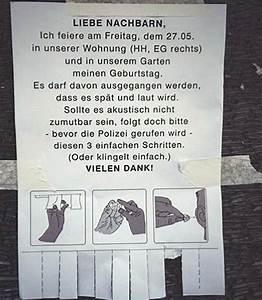 Wie Kündigt Man Eine Wohnung : privatparties in berlin so klappt es auch mit den nachbarn ~ Lizthompson.info Haus und Dekorationen