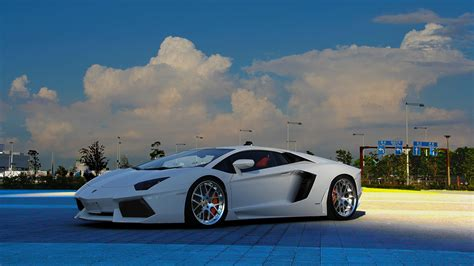 Download Lamborghini Aventador Tuning 4k Wallpaper For