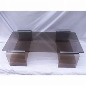 Table Basse En Plexiglas : table basse plexiglass vintage le bois chez vous ~ Teatrodelosmanantiales.com Idées de Décoration