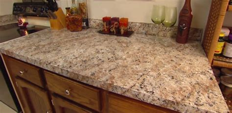 How To Apply Faux Granite Kitchen Countertop Paint