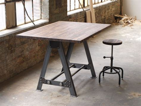custom kitchen island table hand made industrial a frame table kitchen island bar by