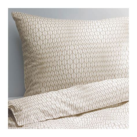 ikea duvet sets ikea nattljus duvet cover pillowcase set white beige