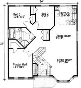 floor plans for homes free barrier free small house plan 90209pd 1st floor master suite cad available canadian
