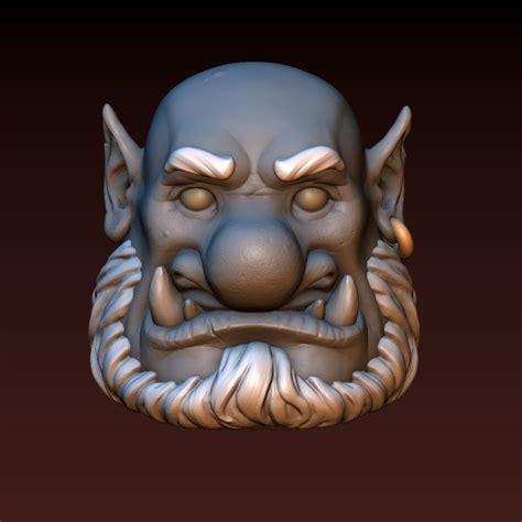 3D print model Ogre head   CGTrader